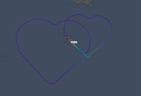 Air Malta heart flight