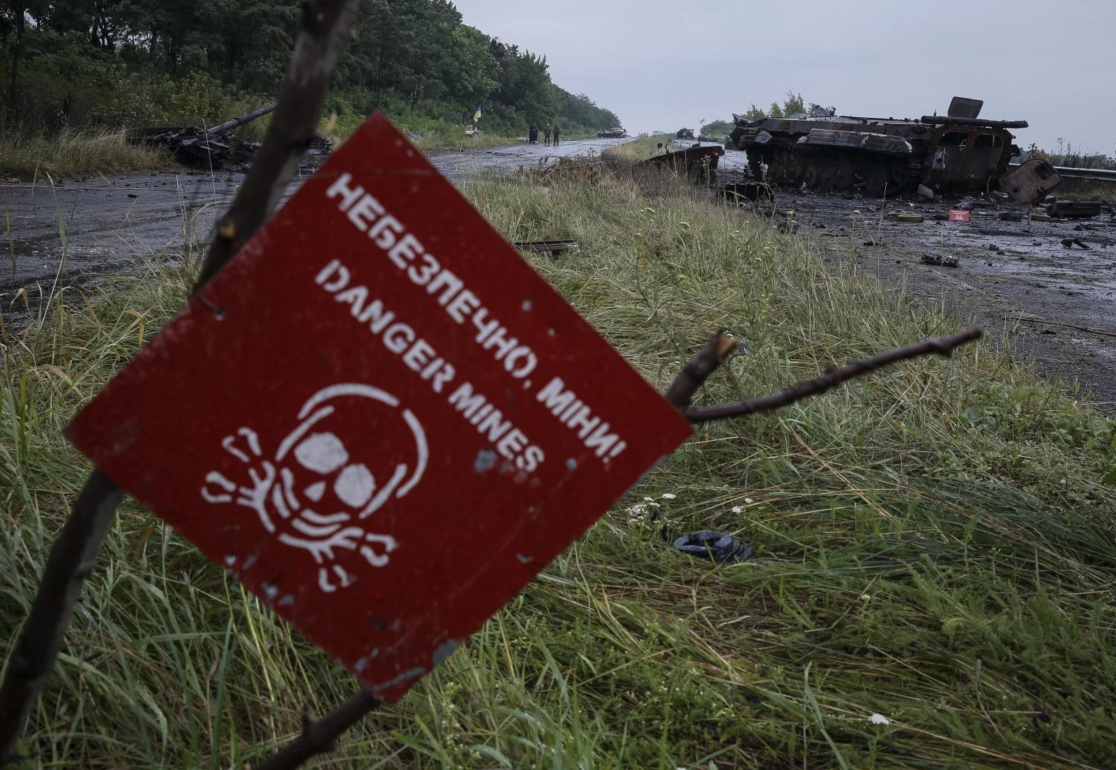 Landmines in Ukraine