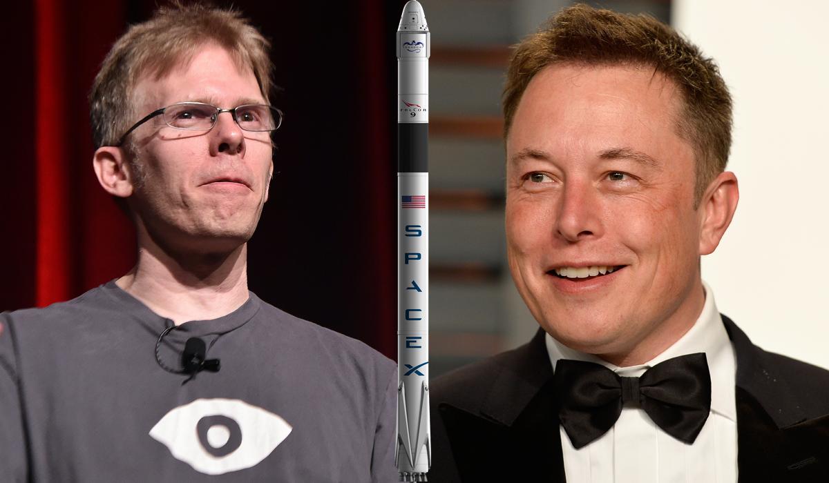 Elon Musk John Carmack Space X