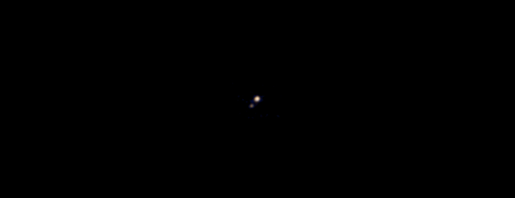 first photo pluto