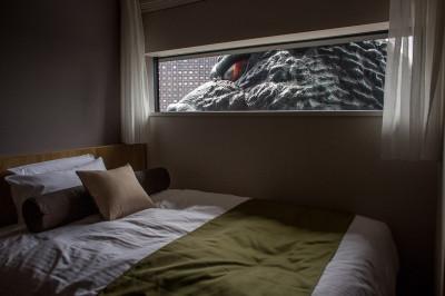 Godzilla Tokyo hotel
