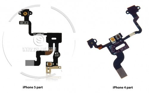 Apple iPhone 5 Leaked Part Photo