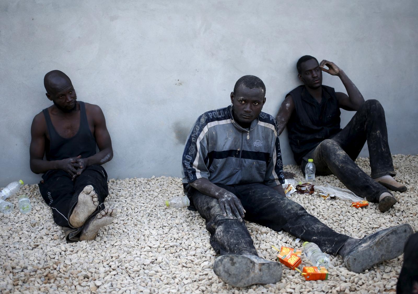 Migrants in Tripoli, Syria