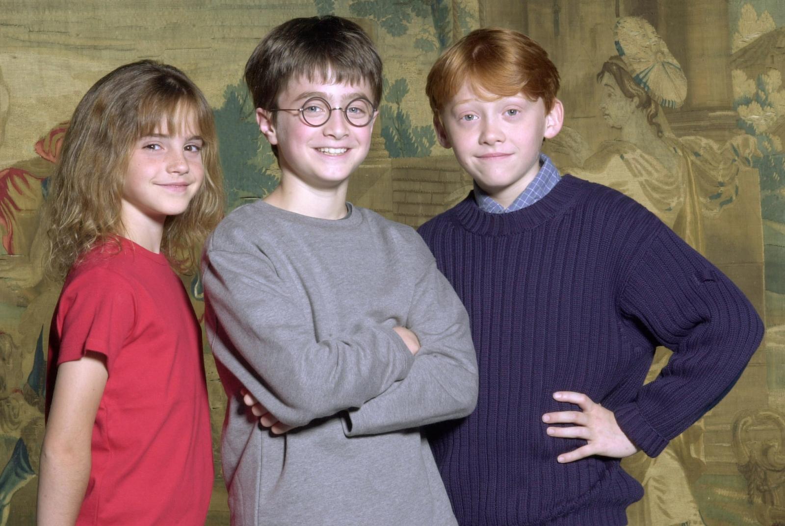 Rupert Grint And Daniel Radcliffe 2015