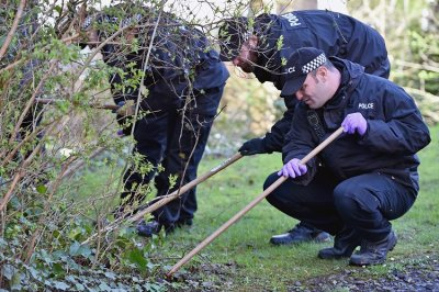 Officers search for missing Karen