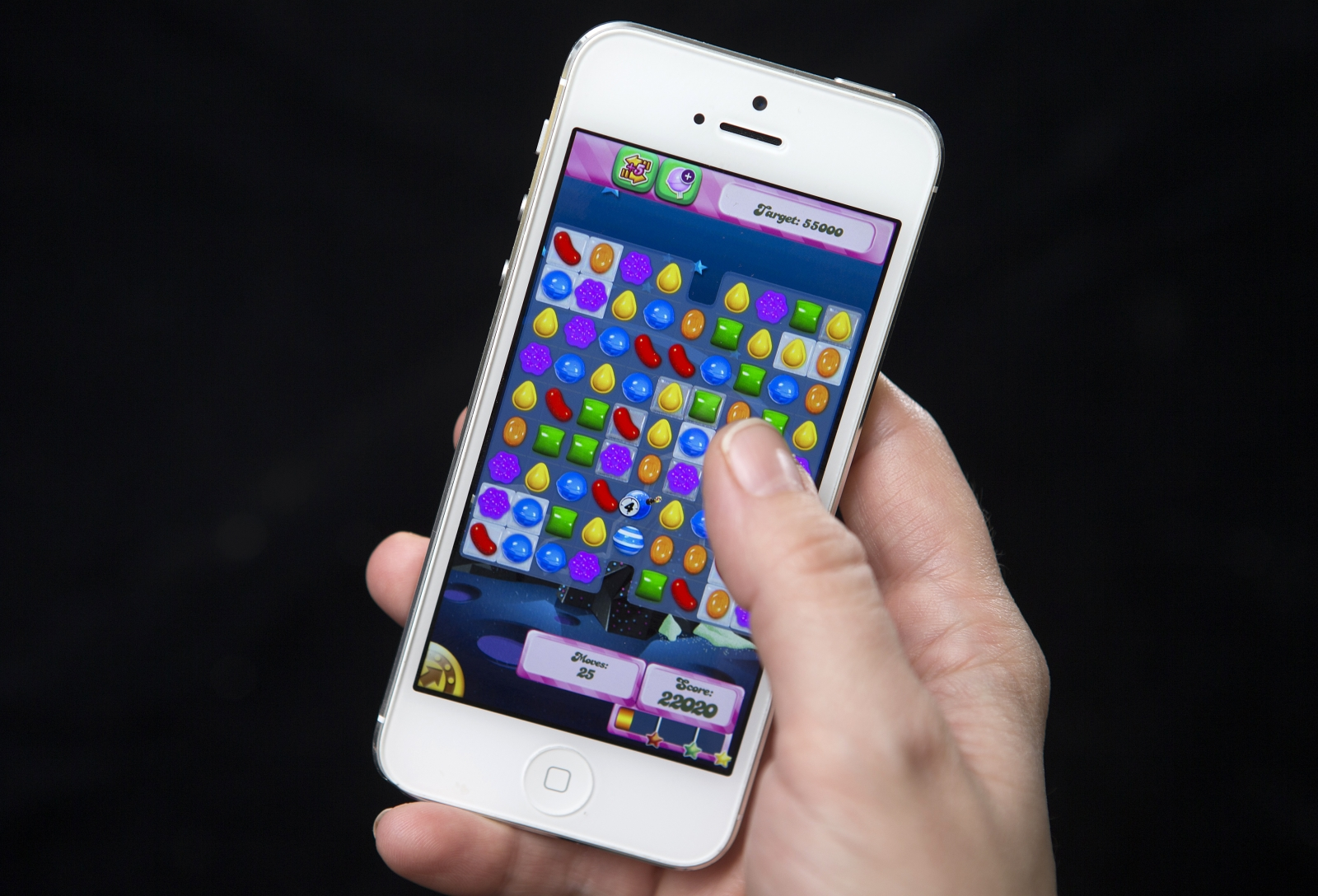 Candy Crush Saga mobile app