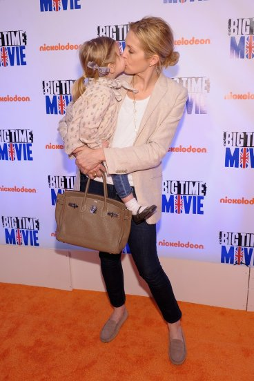 Actress Kelly Rutherford and daughter Helena