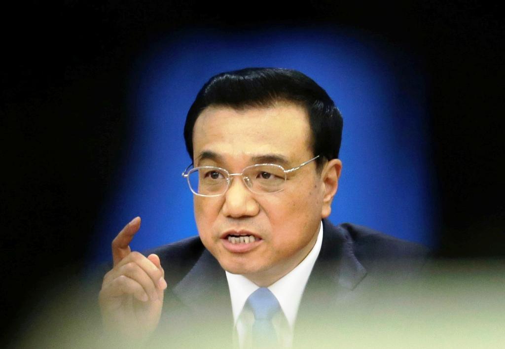 Chinese Premier Li Keqiang.
