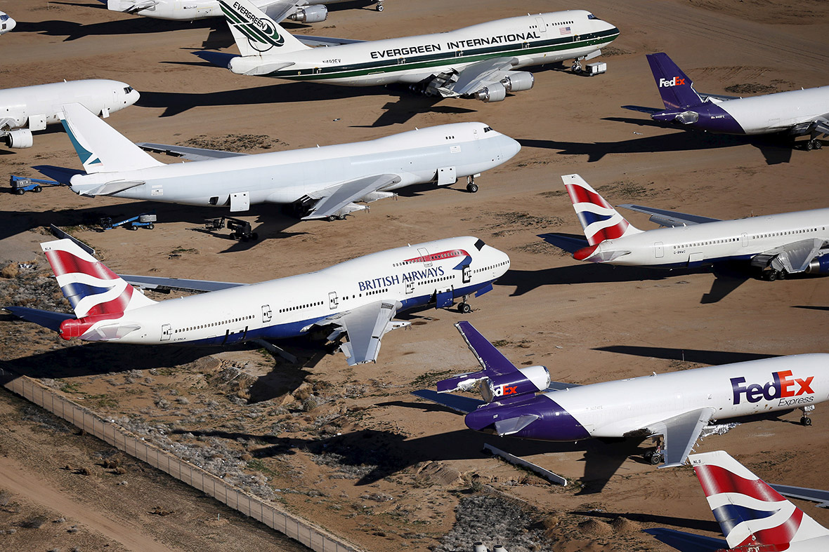 Where Do Old Jumbo Jets Go When They Die The Victorville Aircraft Boeing Wiring Diagrams Graveyard In California Photos