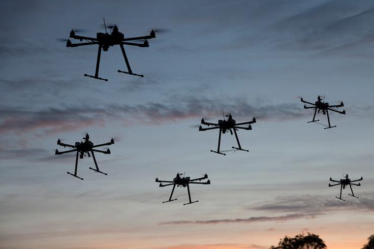 Many drones
