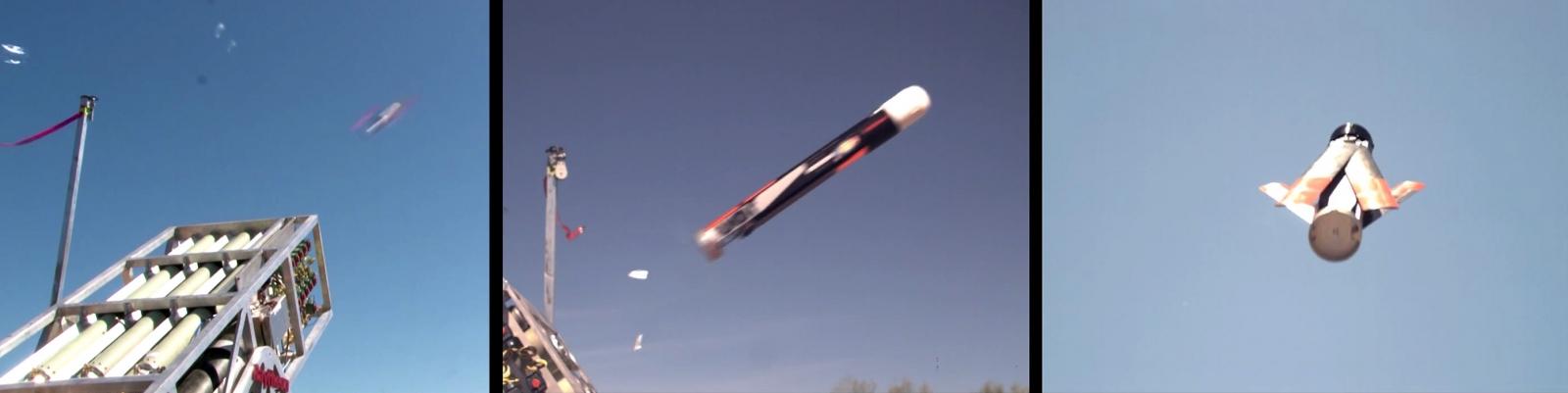 US Navy's LOCUST UAV launching cannon