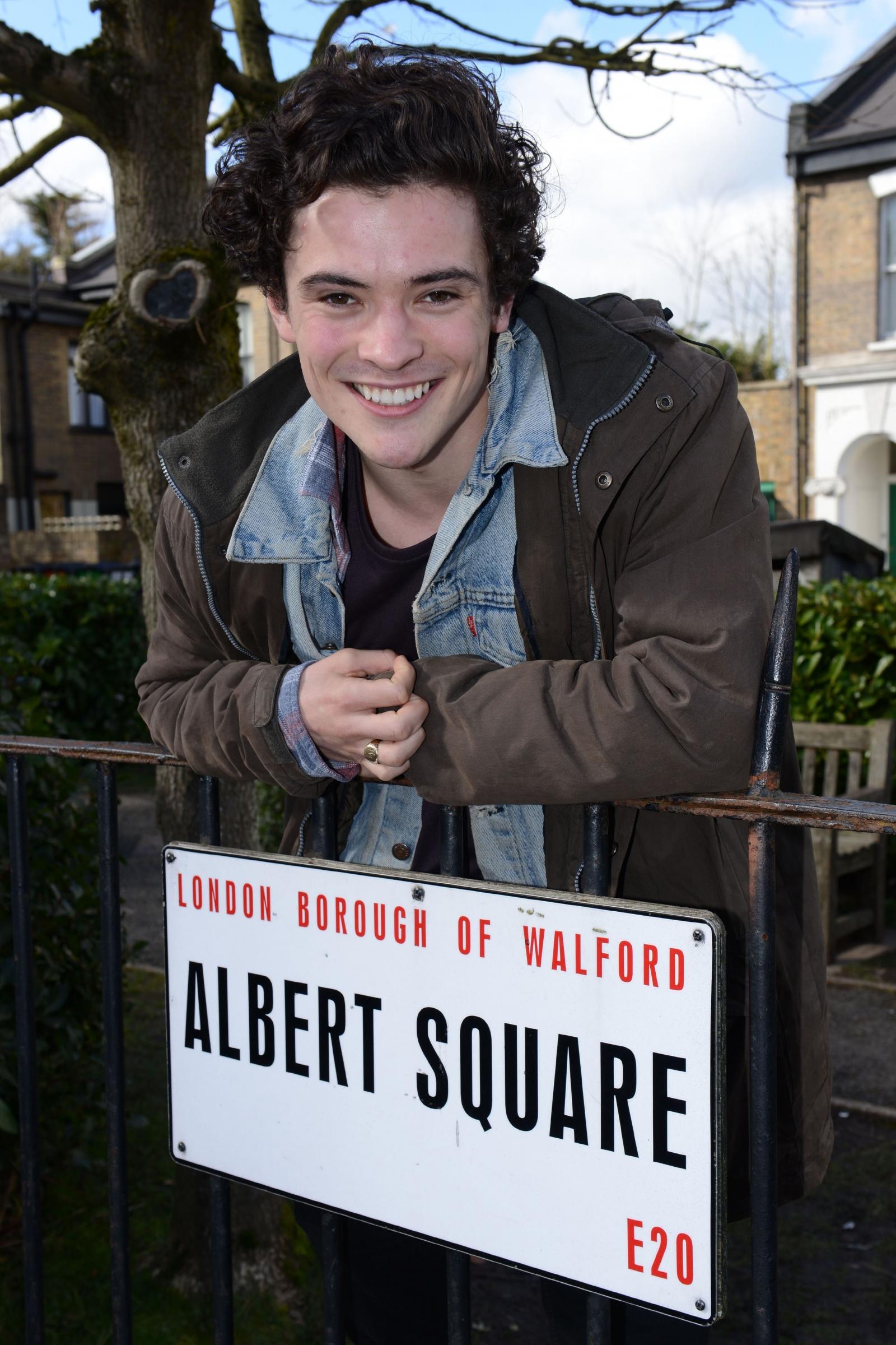Jonny Label on Albert Square
