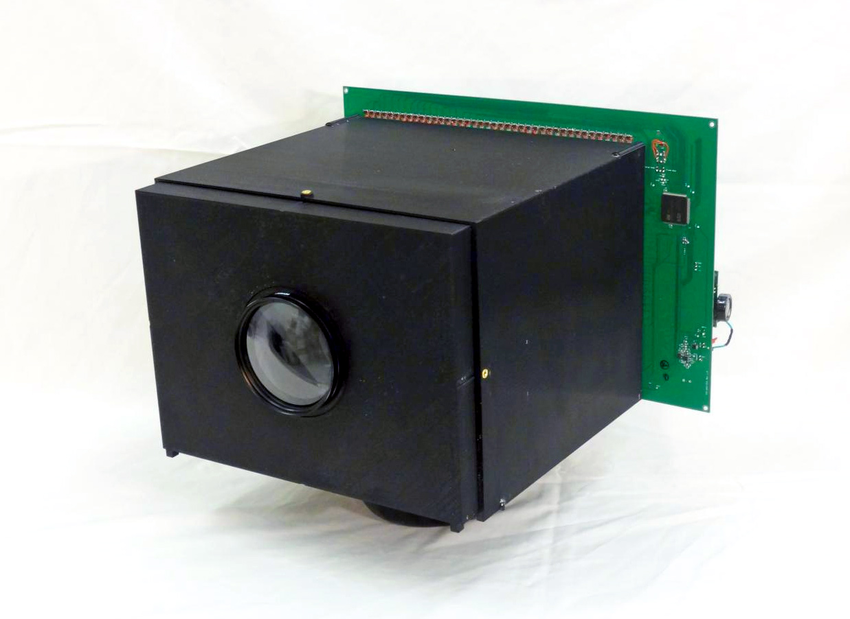 The world's first self-powered camera