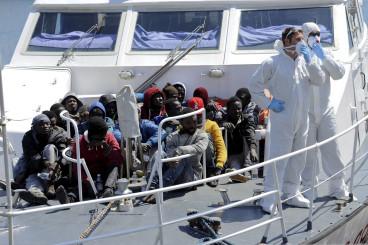 Migrants Libya Palermo