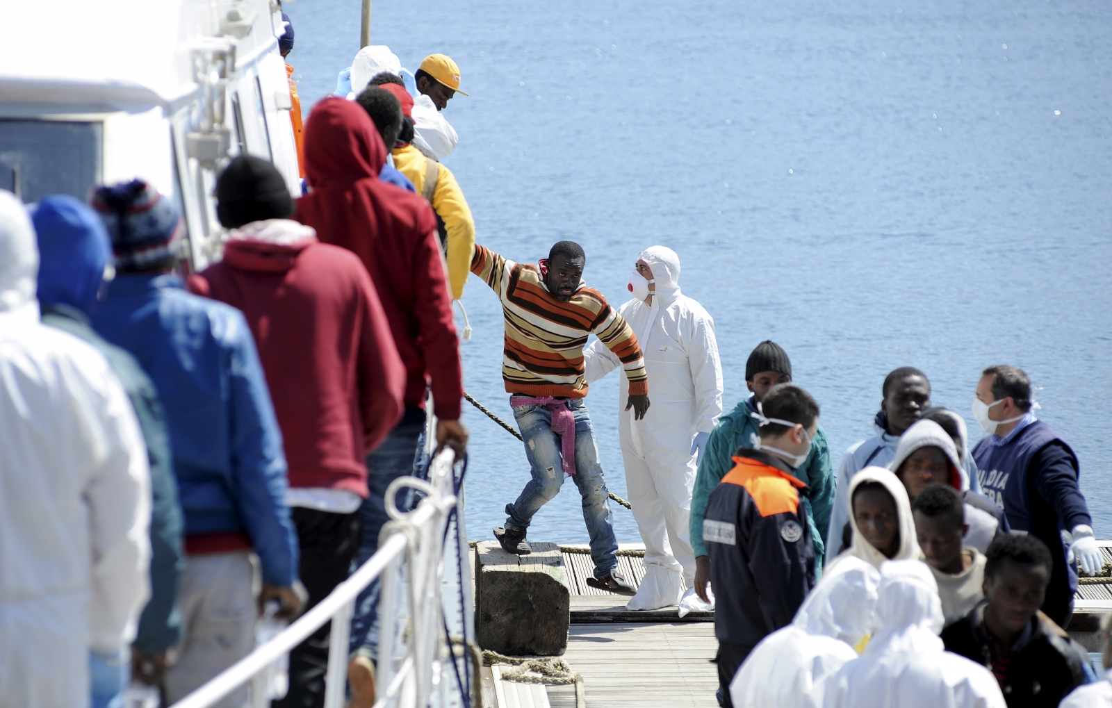 Italy Mediterranean shipwreck
