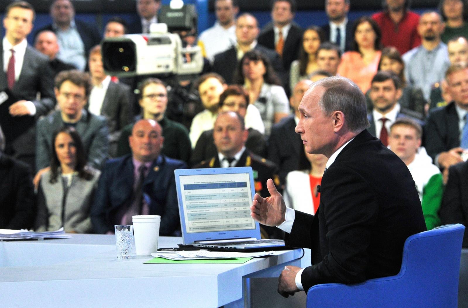 Putin live Q&A