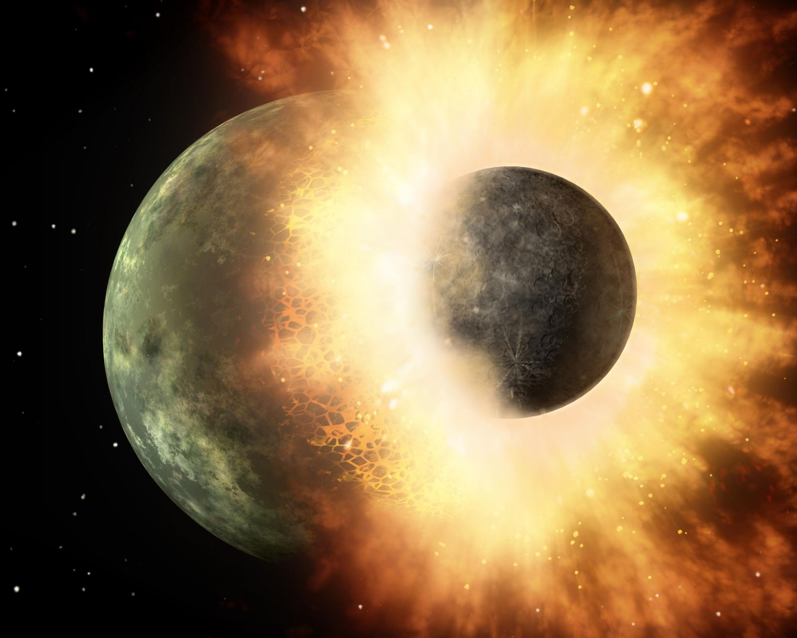 moon-forming impact