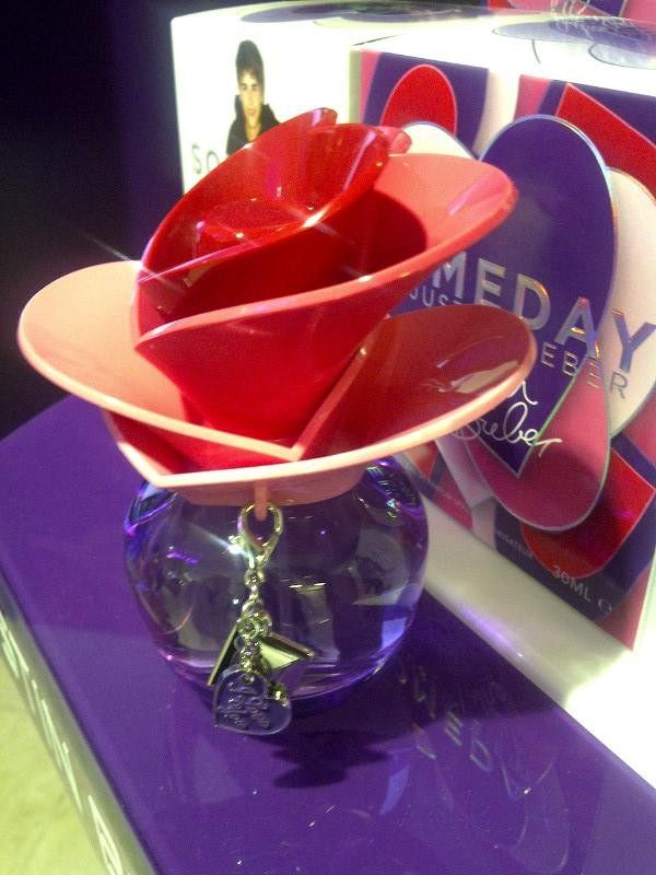 Justin Bieber's 'Someday' perfume