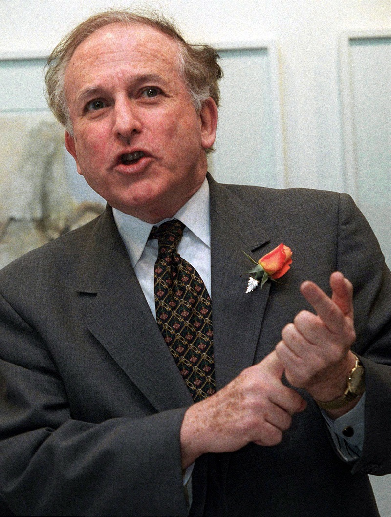 Greville Janner as an MP in 1997
