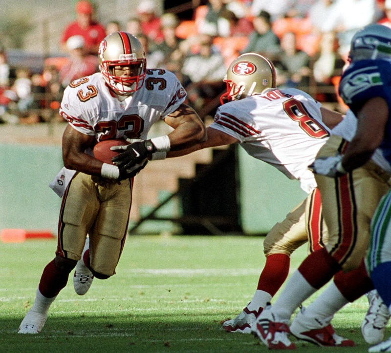 Lawrence Phillips in his playing days