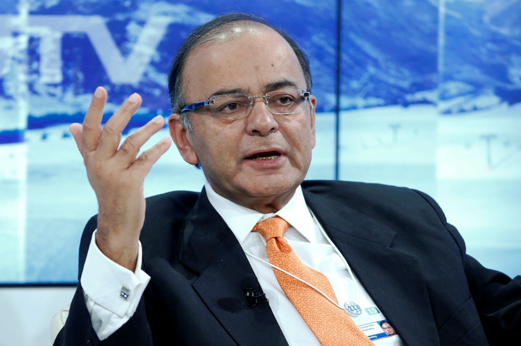 India Finance Minister Arun Jaitley