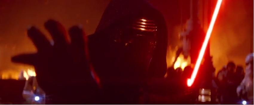 Star Wars 7 trailer breakup