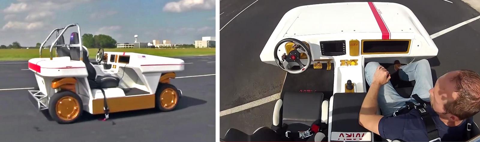 NASA's Modular Robotic Vehicle autonomous car