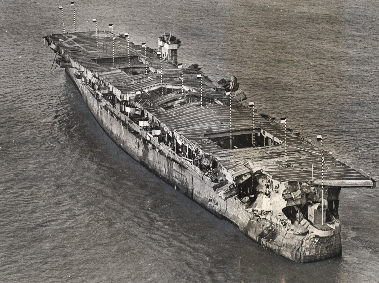 USS Independence wreck