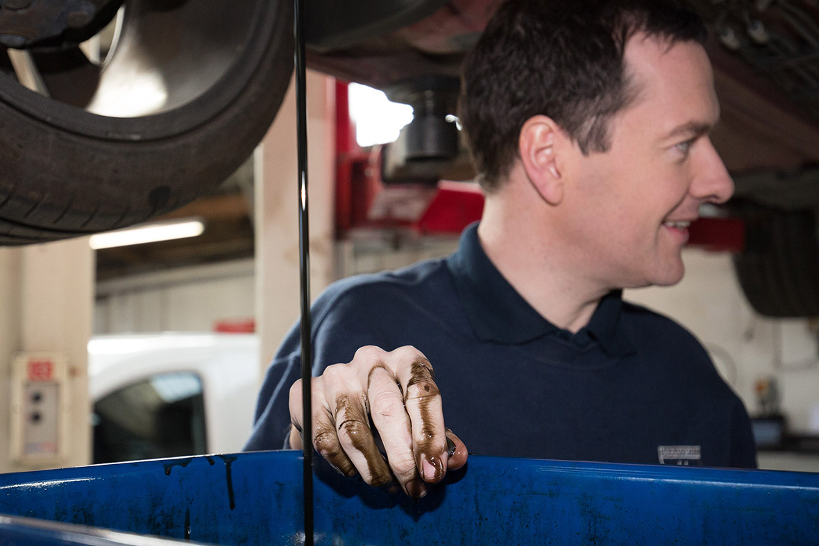 george osborne mechanic