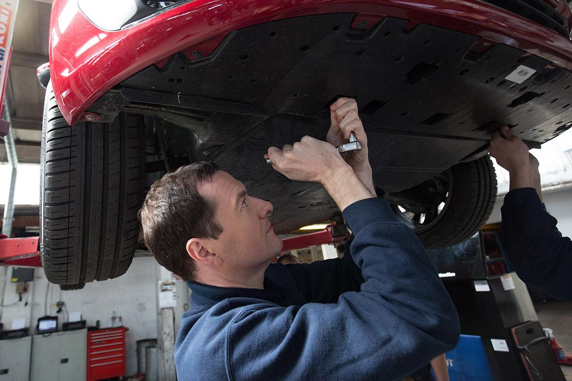 george osborne mechanic