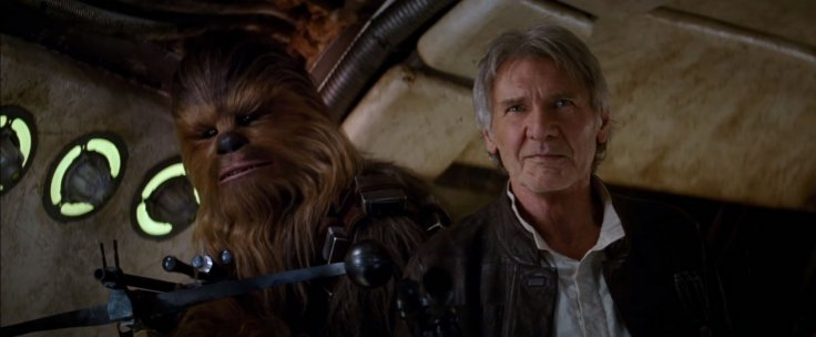 Star Wars The Force Awakens Han Chewie