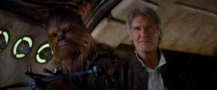Star Wars The Force Awakens Han Chewie