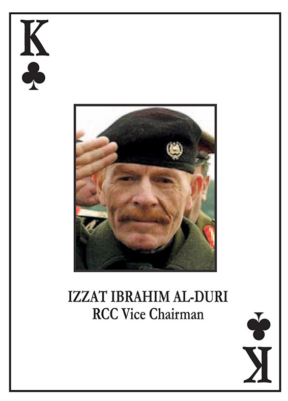 Izzat al-Douri King of Clubs