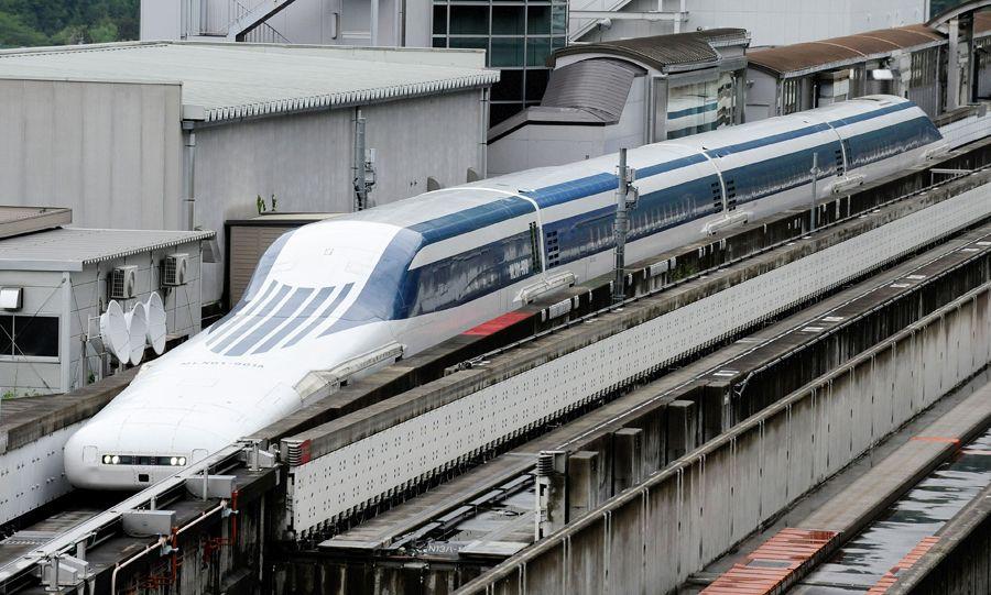 maglev train world record japan