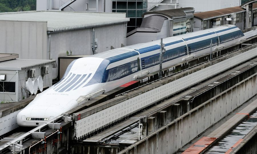 maglev train world record japan