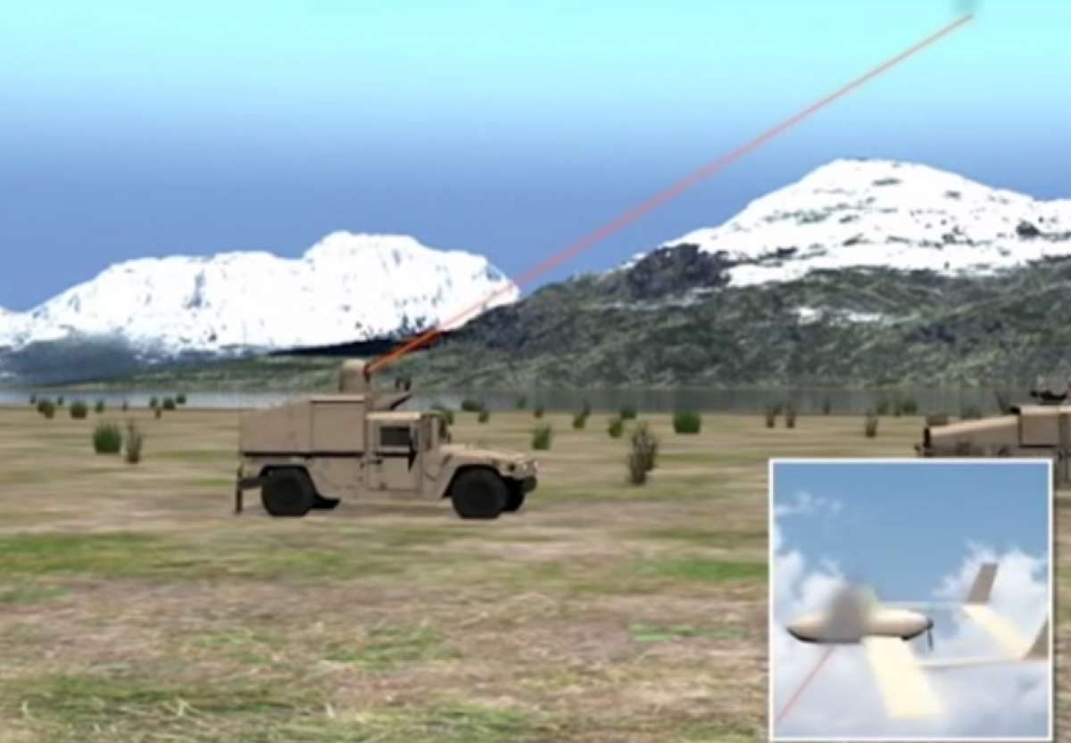 US Navy laser system to shoot UAVs