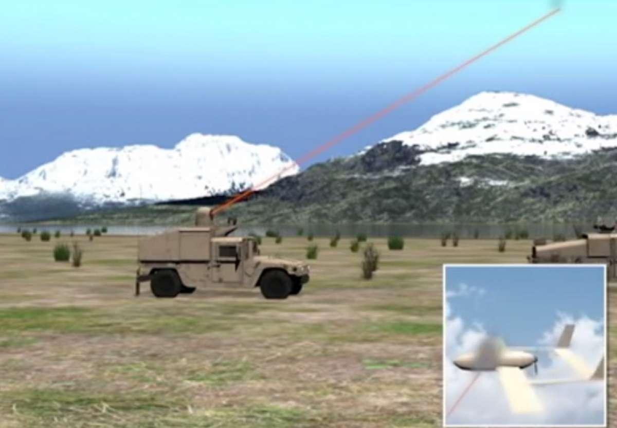 US Navy laser system to shoot UAVs
