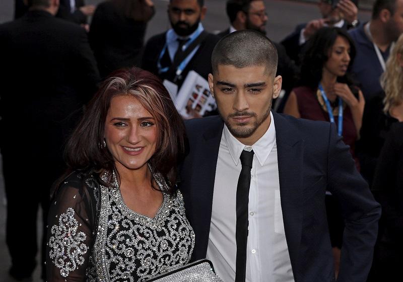 Zayn Malik at the 2015 Asian Awards