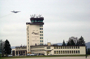 Ramstein Air Base in Germany