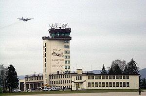 Ramstein Air Base in Germany