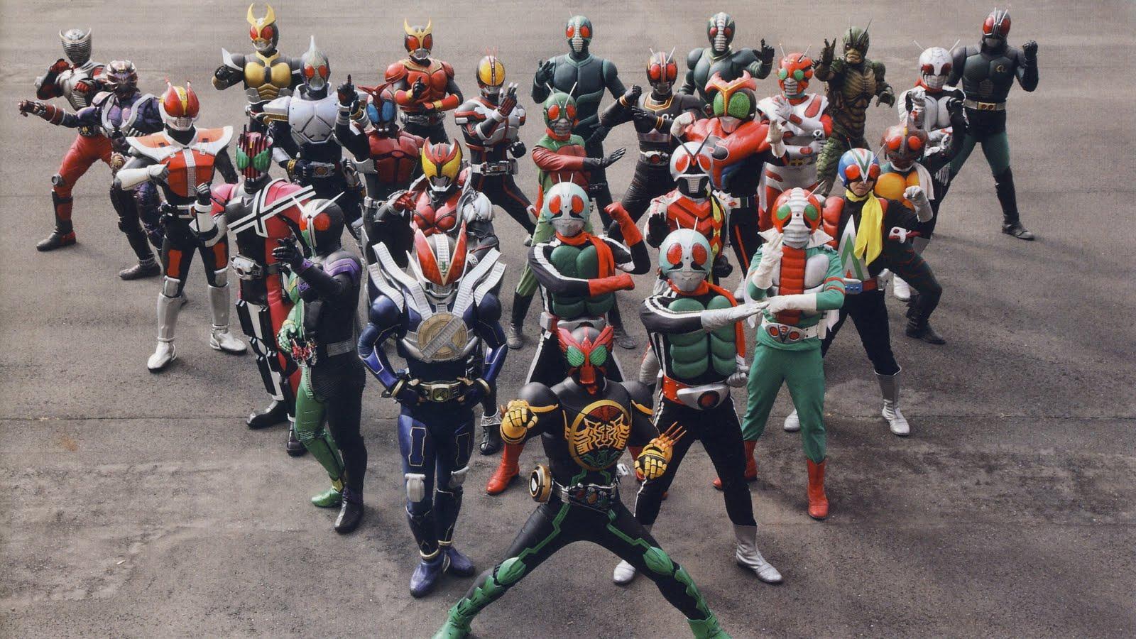 Kamen Rider gang