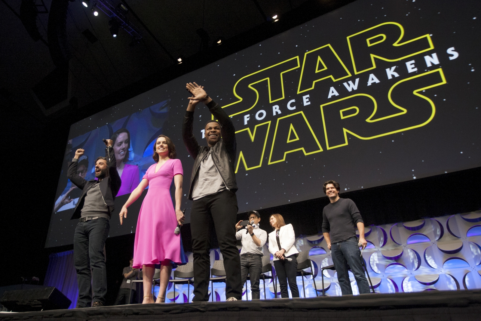 Star Wars: The Force Awakens cast