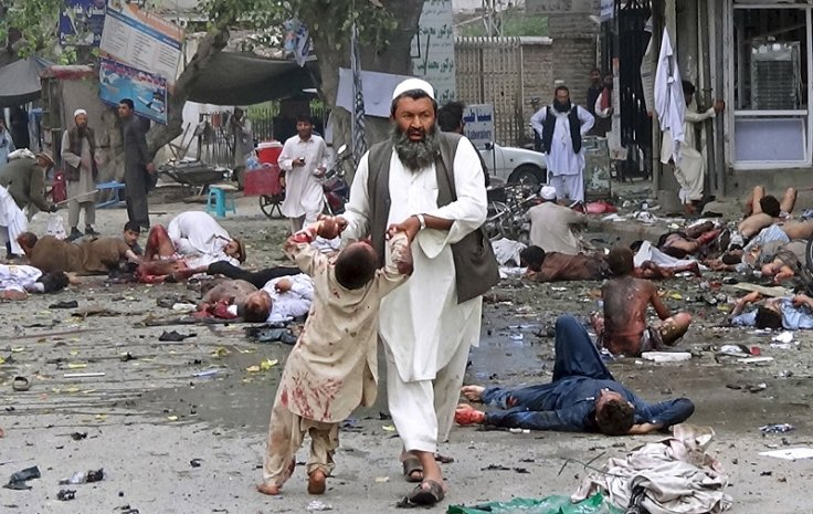 Jalalabad bombing 18 April child victim VIOLENT