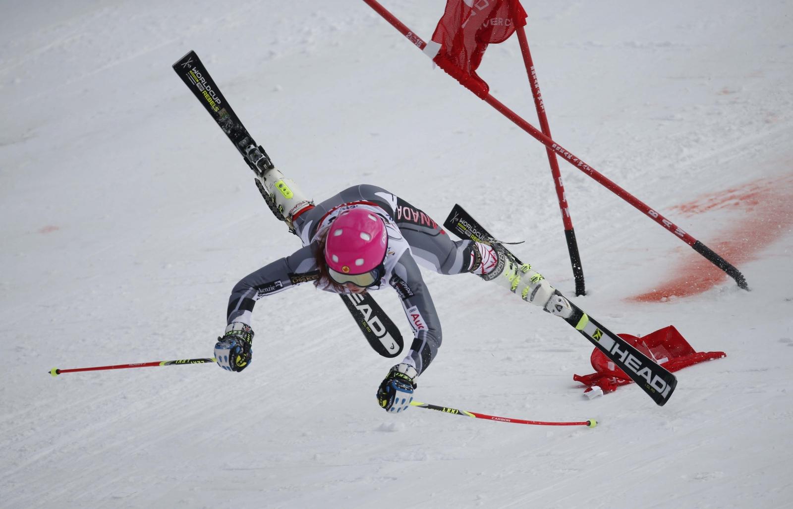 Ski accident
