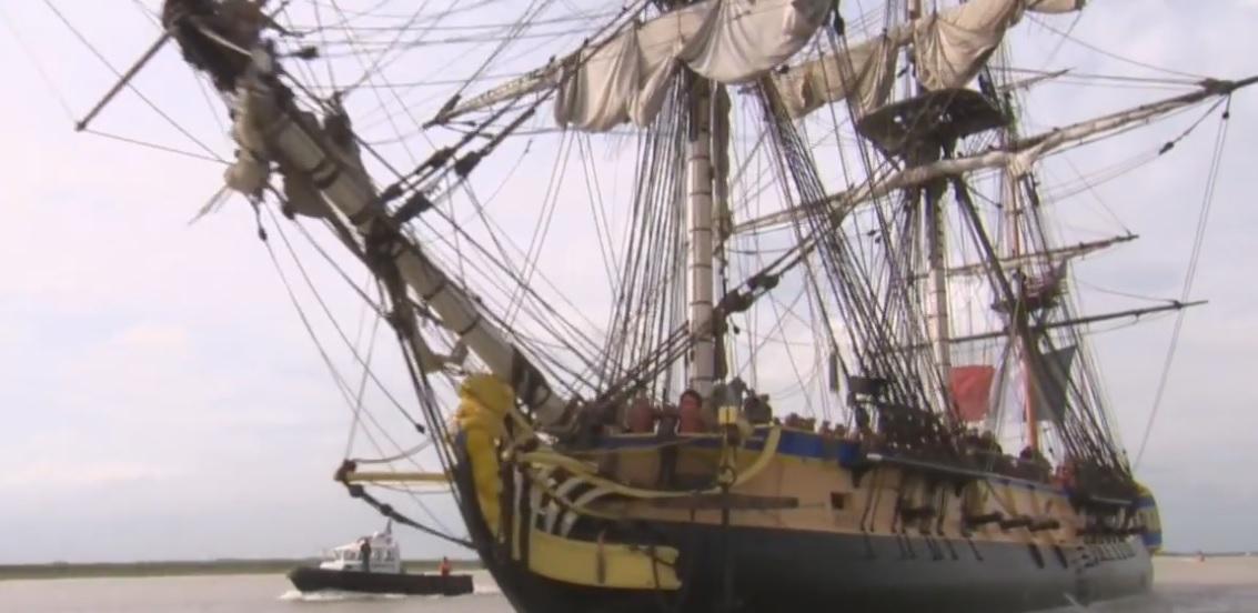 French warship Hermione