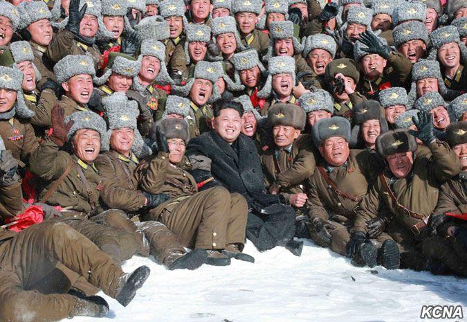 Kim Jong-Un Mount Paektu 2