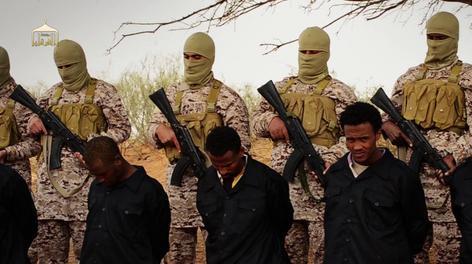 Isis Ethiopia execution