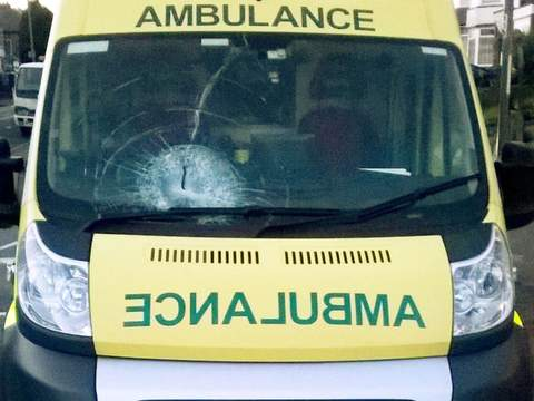 Ambulance attack