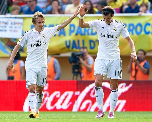 Luke Modric-Gareth Bale