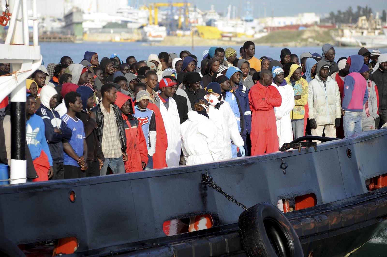 Mediterranean migrants crisis